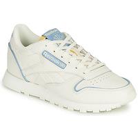 Cipők Rövid szárú edzőcipők Reebok Classic CL LTHR Fehér