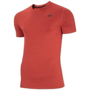 Ruhák Férfi Rövid ujjú pólók 4F TSMF003 Piros