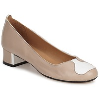 Cipők Női Félcipők Robert Clergerie SALSA Bézs-Fehér