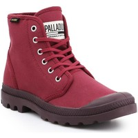 Cipők Férfi Magas szárú edzőcipők Palladium Buty lifestylowe  Pampa HI Oryginale 75349-604-M bordowy