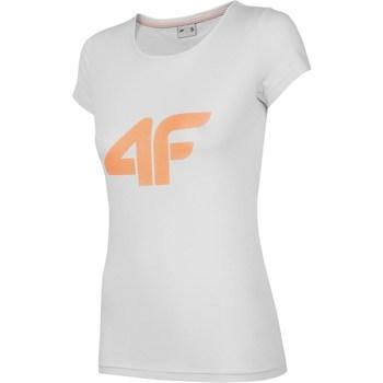 Ruhák Női Rövid ujjú pólók 4F TSD005 Szürke