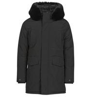 Ruhák Férfi Parka kabátok Casual Attitude NAFFO Fekete