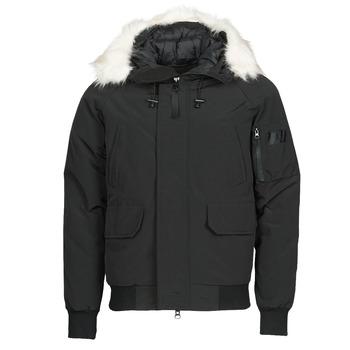 Ruhák Férfi Steppelt kabátok Casual Attitude NIFFO Fekete