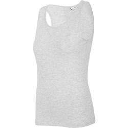 Ruhák Női Trikók / Ujjatlan pólók 4F TSD003 Szürke