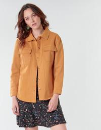 Ruhák Női Kabátok / Blézerek Betty London NISOI Konyak
