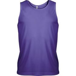 Ruhák Férfi Trikók / Ujjatlan pólók Proact Débardeur  Sport violet