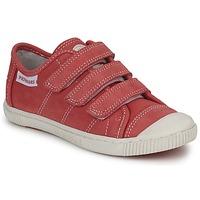 Cipők Gyerek Rövid szárú edzőcipők Pataugas BISTRO Piros