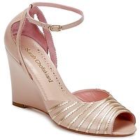 Cipők Női Szandálok / Saruk Sarah Chofakian LA PARADE Rózsaszín / Arany