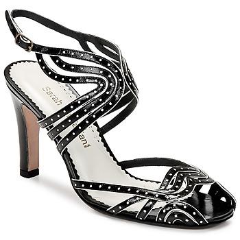 Cipők Női Szandálok / Saruk Sarah Chofakian WINGS Fekete  / Arany