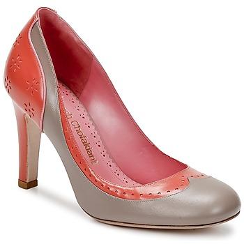 Cipők Női Félcipők Sarah Chofakian LAUTREC Agyag / Lazac