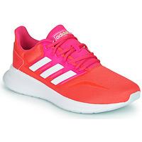Cipők Női Rövid szárú edzőcipők adidas Performance RUNFALCON Piros / Rózsaszín