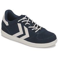 Cipők Gyerek Rövid szárú edzőcipők Hummel VICTORY JR Kék