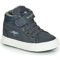 Cipők Fiú Magas szárú edzőcipők Kangaroos KAVU I Kék