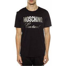 Ruhák Férfi Rövid ujjú pólók Love Moschino ZPA0715 Fekete
