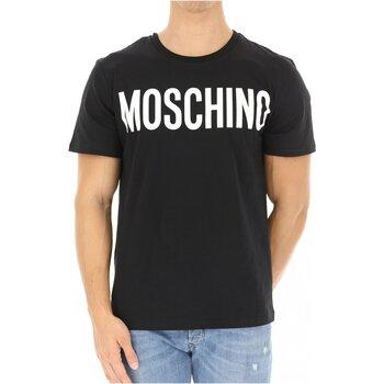 Ruhák Férfi Rövid ujjú pólók Love Moschino ZPA0705 Fekete