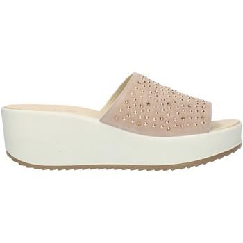Cipők Női Papucsok Imac 508280 Beige