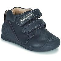 Cipők Gyerek Rövid szárú edzőcipők Biomecanics BOTIN DOS VELCROS Tengerész