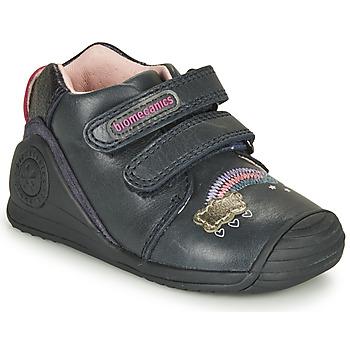 Cipők Lány Rövid szárú edzőcipők Biomecanics BOTIN TWIN Tengerész