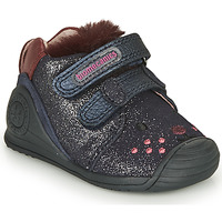 Cipők Lány Rövid szárú edzőcipők Biomecanics BOTIN ELASTICO Tengerész