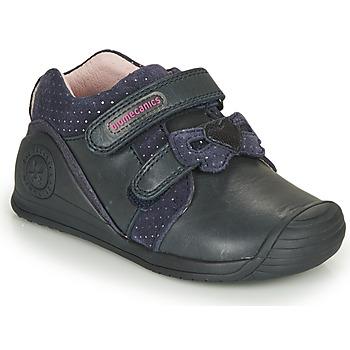 Cipők Lány Rövid szárú edzőcipők Biomecanics BOTIN LAZO Tengerész