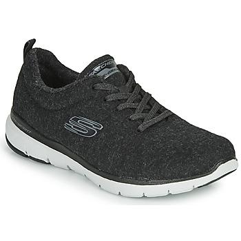 Cipők Női Fitnesz Skechers FLEX APPEAL 3.0 PLUSH JOY Fekete