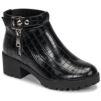 Cipők Női Csizmák Moony Mood NIETTE Fekete