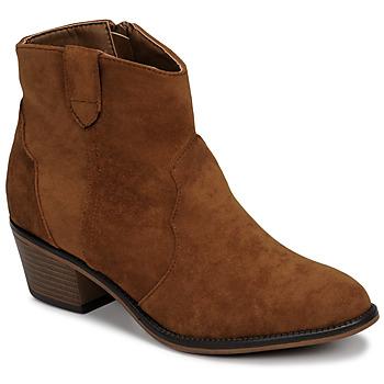 Cipők Női Csizmák Moony Mood NINITE Teve
