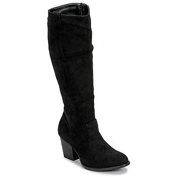 Cipők Női Városi csizmák Moony Mood NOEMA Fekete