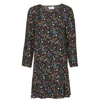 Ruhák Női Rövid ruhák Betty London NELLY Fekete  / Sokszínű