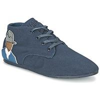 Cipők Női Rövid szárú edzőcipők Eleven Paris BASTEE Tengerész