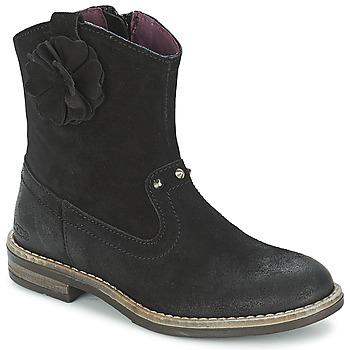 Cipők Lány Csizmák Mod'8 NOLA Fekete