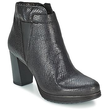 Cipők Női Bokacsizmák Mjus GRACANICA Fekete