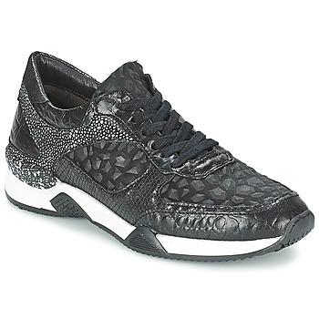 Cipők Női Rövid szárú edzőcipők Mjus KRUPA Fekete