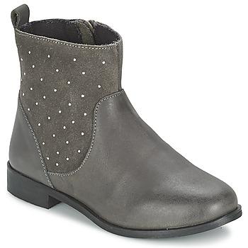 Shoes Lány Csizmák Citrouille et Compagnie BANMAL Szürke