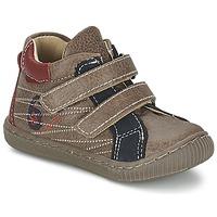 Cipők Fiú Magas szárú edzőcipők Citrouille et Compagnie THEO Tópszínű