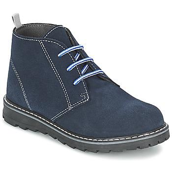 Cipők Fiú Csizmák Citrouille et Compagnie LEQUIN Kék