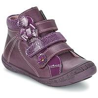Cipők Lány Magas szárú edzőcipők Citrouille et Compagnie FALIE Lila