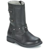 Shoes Lány Városi csizmák Citrouille et Compagnie ELZA Fekete