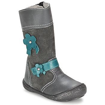 Shoes Lány Városi csizmák Citrouille et Compagnie RINDAR Szürke