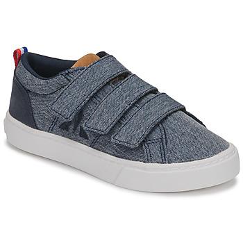 Cipők Gyerek Rövid szárú edzőcipők Le Coq Sportif VERDON INF Kék