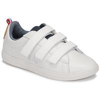 Cipők Gyerek Rövid szárú edzőcipők Le Coq Sportif COURTCLASSIC PS Fehér