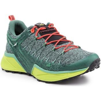 Cipők Női Futócipők Salewa Buty trekkingowe  Ws Dropline 61369-5585 zielony