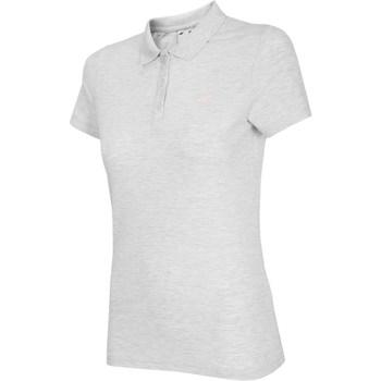 Ruhák Női Rövid ujjú pólók 4F NOSH4 TSD007 Biały Melanż