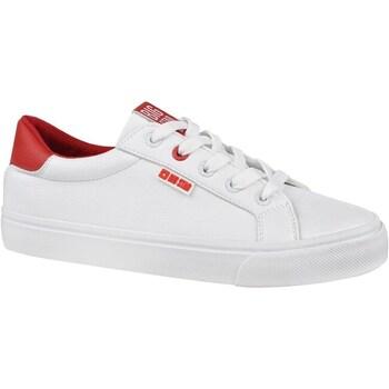 Cipők Női Rövid szárú edzőcipők Big Star EE274311 Białe,Czerwone