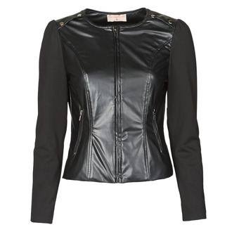 Ruhák Női Kabátok / Blézerek Moony Mood NAMOUR Fekete