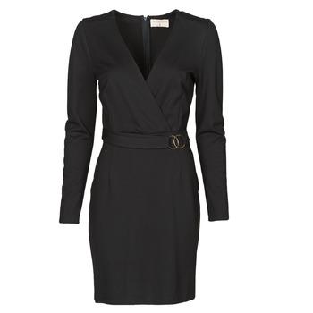 Ruhák Női Rövid ruhák Moony Mood NAMITIE Fekete