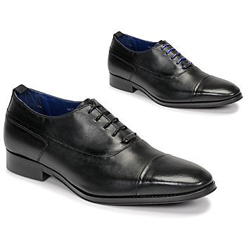 Cipők Férfi Bokacipők Azzaro LITCHI Fekete