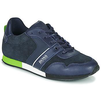 Cipők Fiú Rövid szárú edzőcipők BOSS J29225 Kék