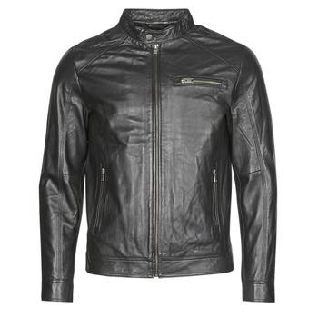 Ruhák Férfi Bőrkabátok / műbőr kabátok Selected SLHC01 Fekete