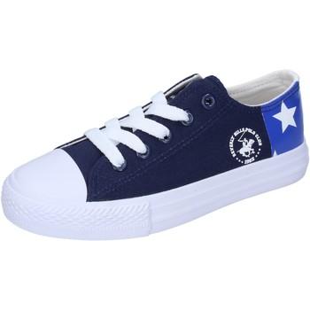 Cipők Fiú Rövid szárú edzőcipők Beverly Hills Polo Club Tornacipő BM931 Kék